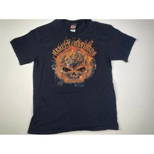 Harley Davidson Denver Colorado Black Graphic